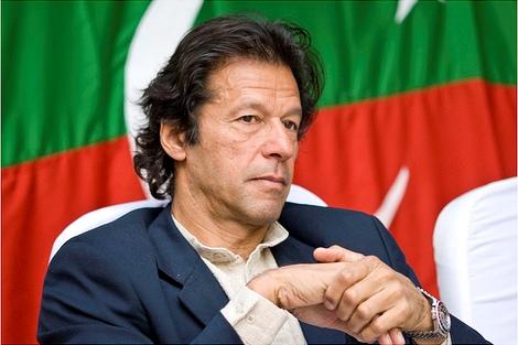 Imran Khan pictured in 2007, by Jawad Zakariya