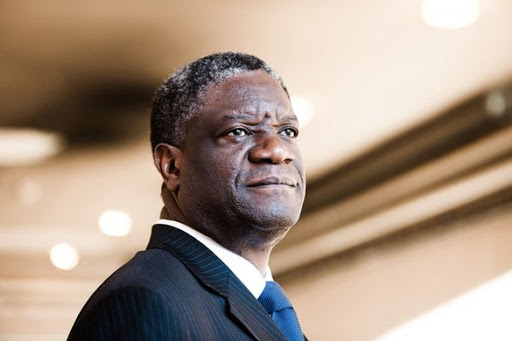 Doctor Mukwege, recipient of the Nobel Peace Prize