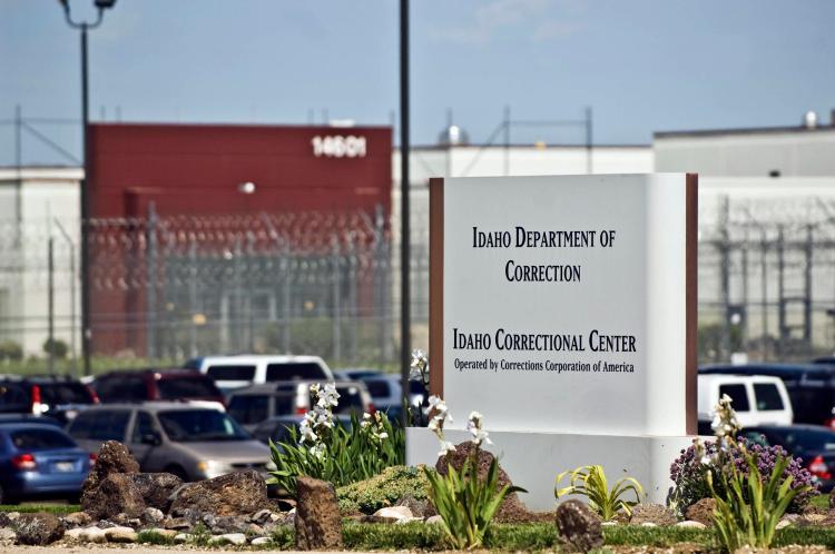 The CCA-run Idaho Correctional Center.