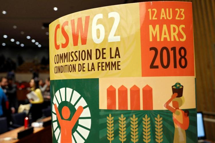 An image of the poster for CSW62, 2018.