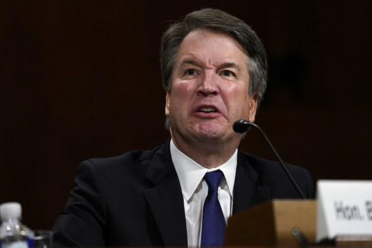 Kavanaugh on trial in 2018
