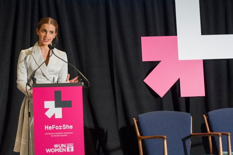 Emma Watson launches #heforshe campaign at UN